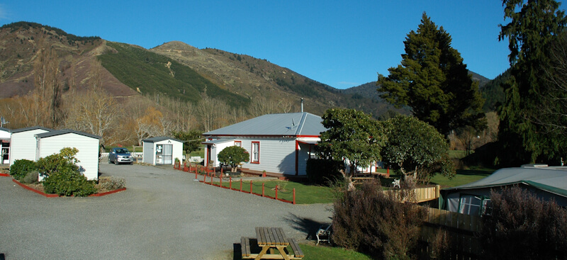 Campground Accommodation Options At Waves Campsite Havelock
