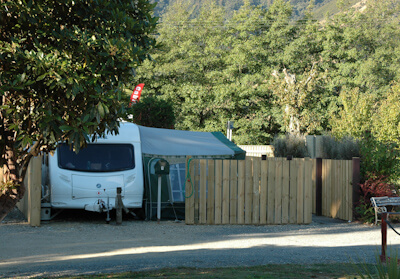 Permanent Sites At Waves Campsite Havelock